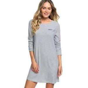 ✌🏻 Roxy women's sun long sleeve T-shirt dress 🐬